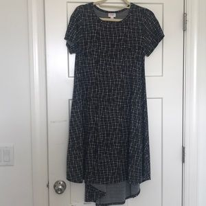 Lularoe Carly midi dress size small